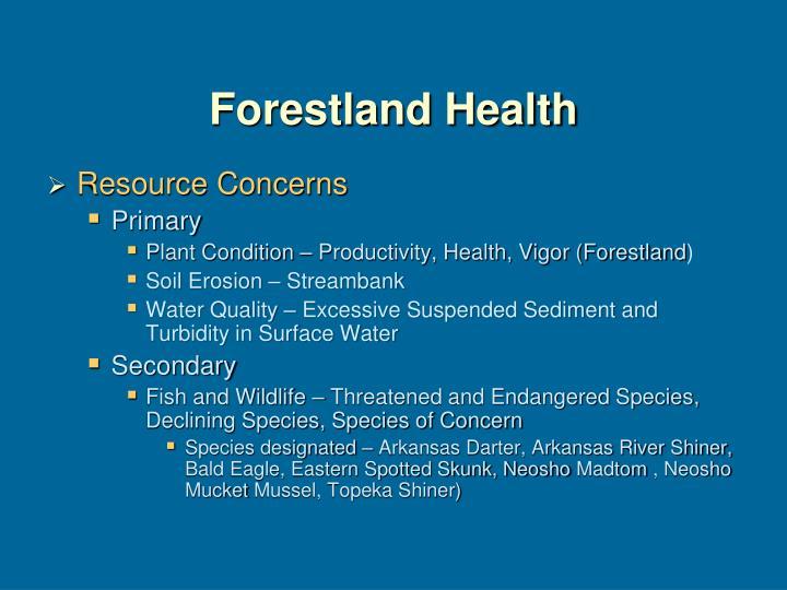 Forestland Health