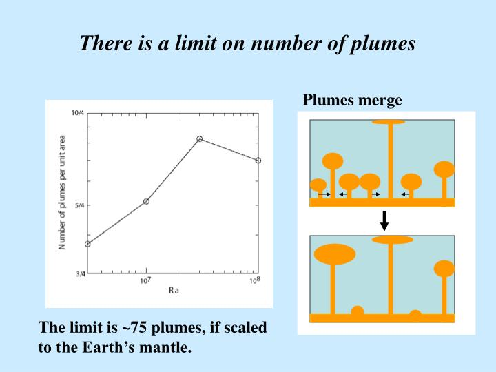 There is a limit on number of plumes