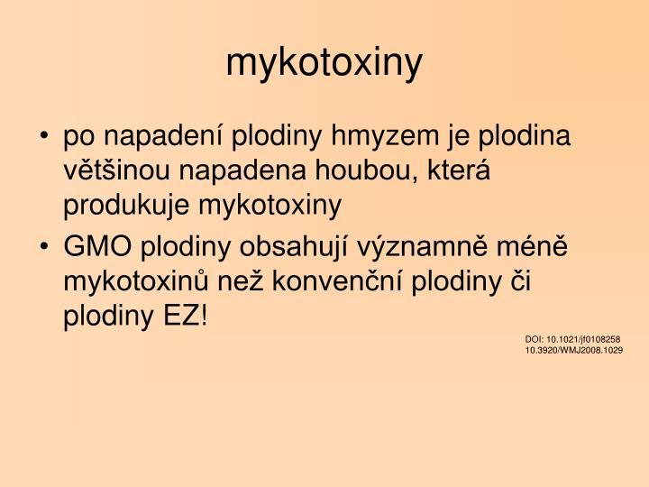 mykotoxiny