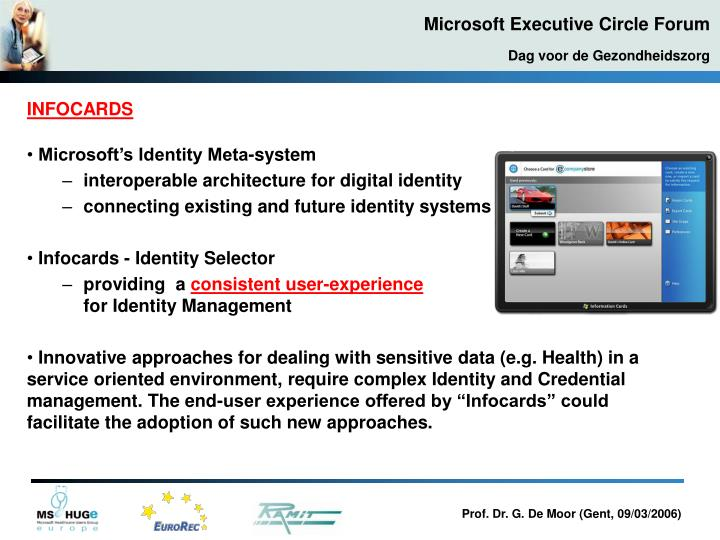 Microsoft's Identity Meta-system