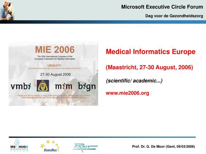 Medical Informatics Europe
