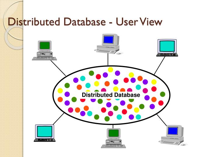 Distributed Database - User View