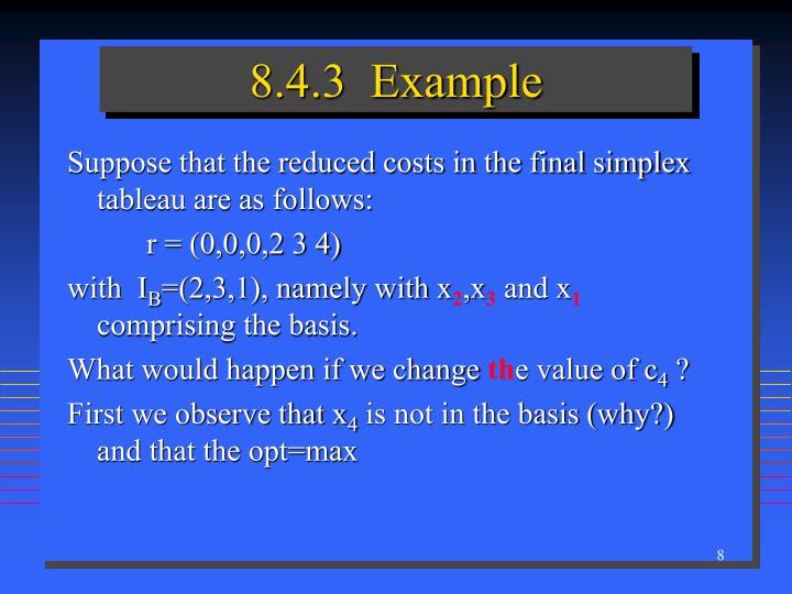 8.4.3  Example