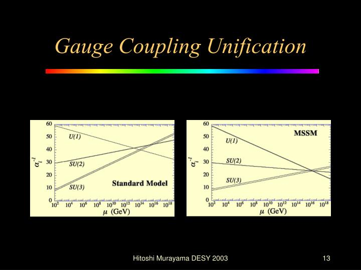 Gauge Coupling Unification