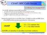 csa07 rpc calib stream