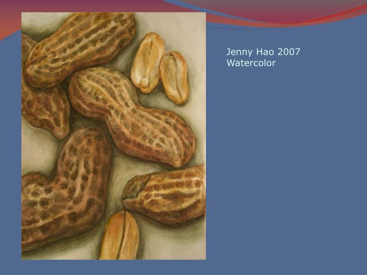Jenny Hao 2007