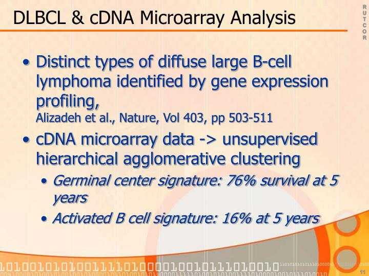 DLBCL & cDNA Microarray Analysis