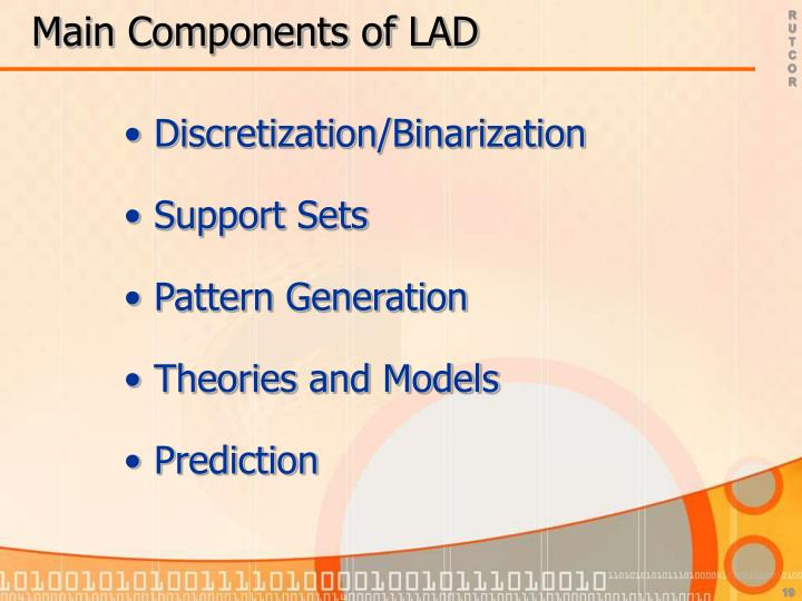 Main Components of LAD