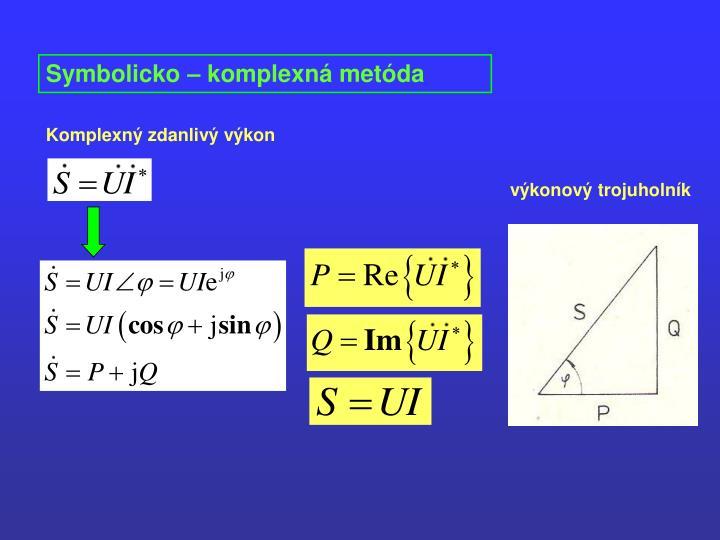 Symbolicko – komplexná metóda
