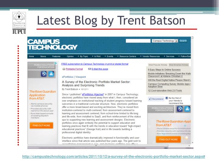 Latest Blog by Trent Batson