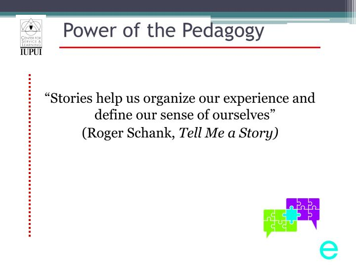 Power of the Pedagogy