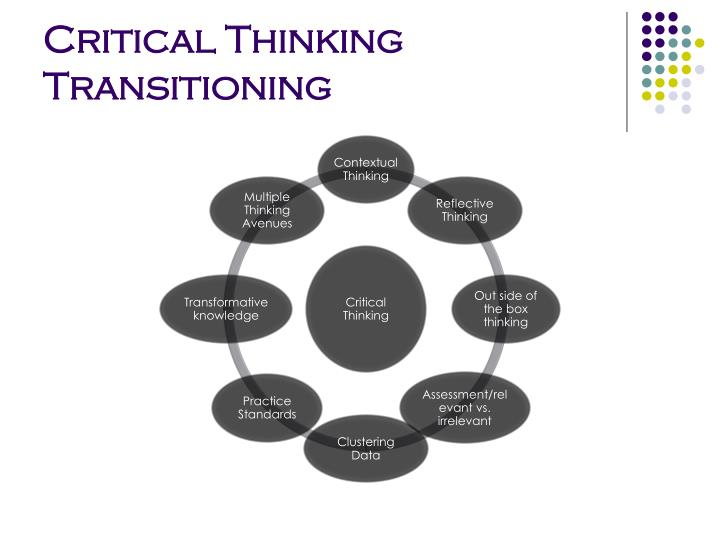 Critical Thinking Transitioning
