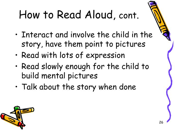 How to Read Aloud,