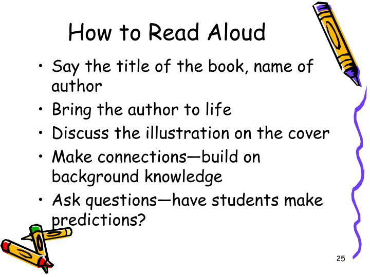 How to Read Aloud