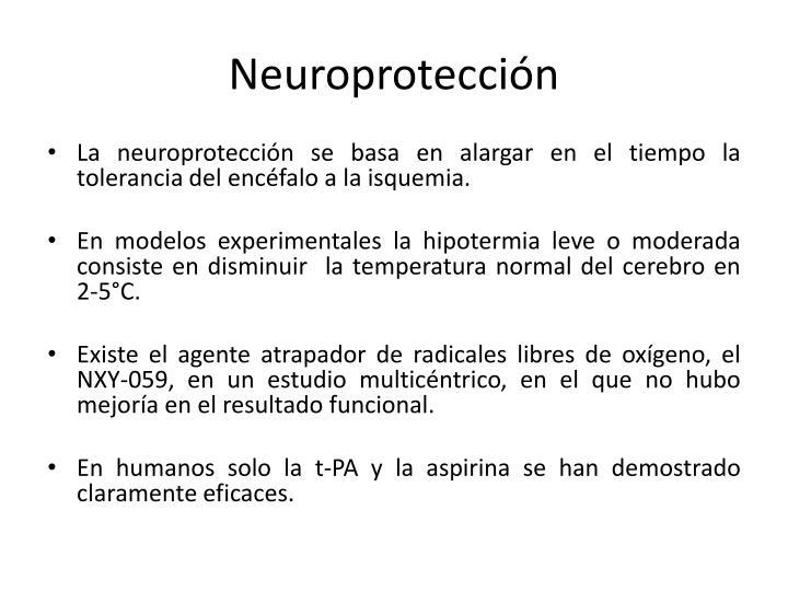 Neuroprotección