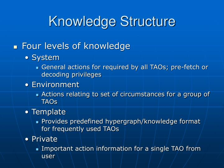 Knowledge Structure