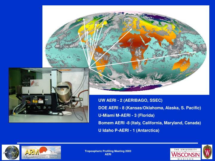 UW AERI - 2 (AERIBAGO, SSEC)