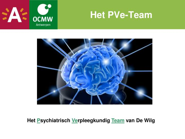 Het PVe-Team