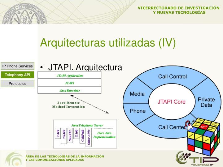 Arquitecturas utilizadas (IV)