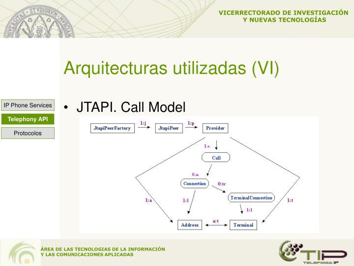 Arquitecturas utilizadas (VI)