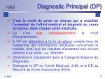diagnostic principal dp