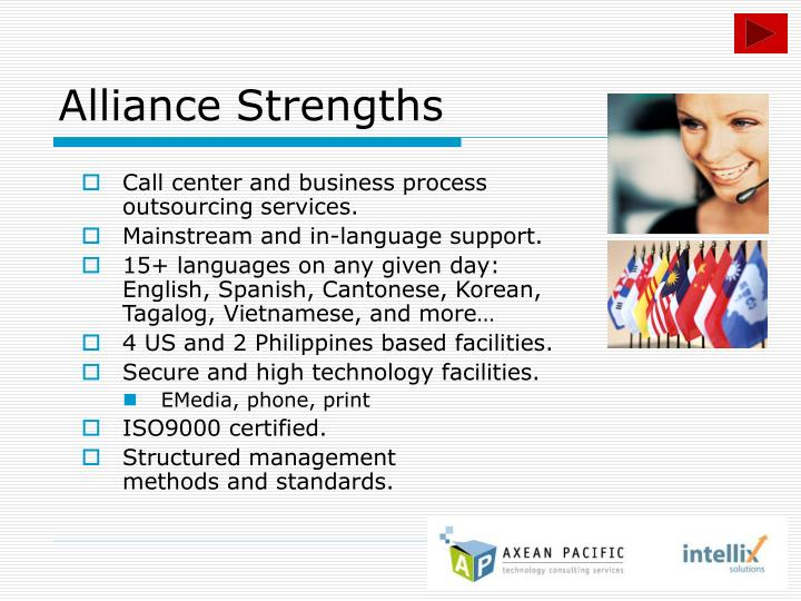 Alliance Strengths