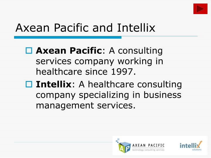 Axean pacific and intellix