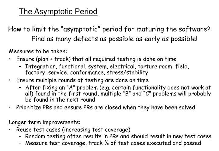 The Asymptotic Period
