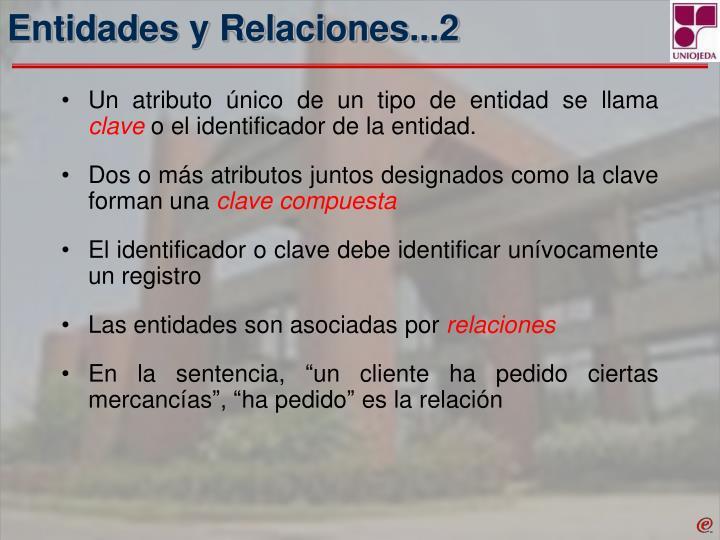 Entidades y Relaciones...2