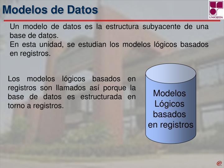 Modelos de Datos
