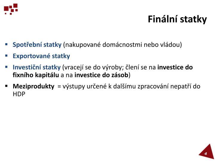 Finální statky