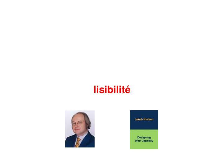 lisibilité