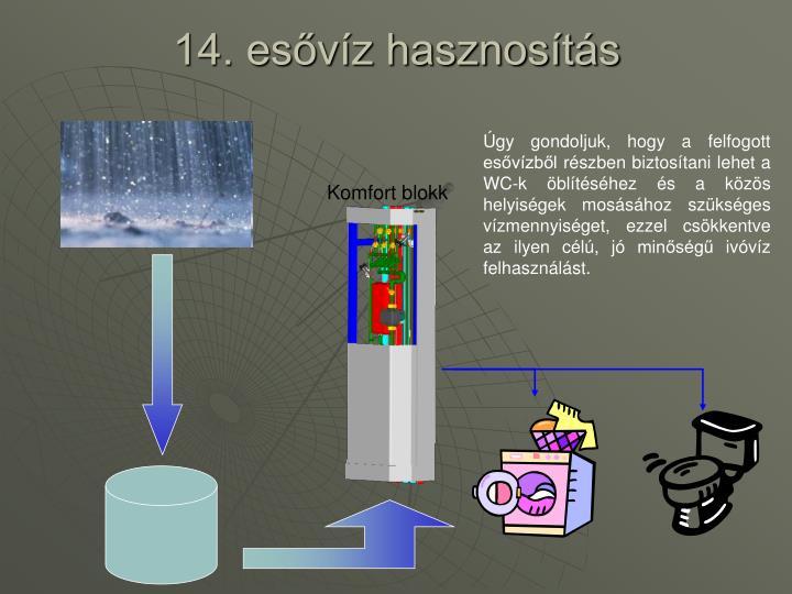 14. esővíz hasznosítás