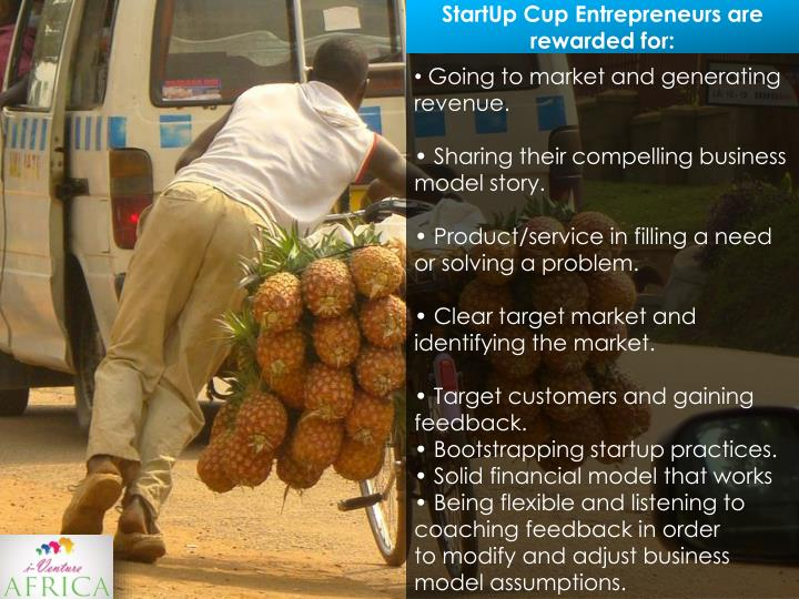 Going to market and generating revenue.
