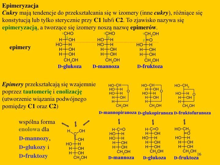 Epimeryzacja