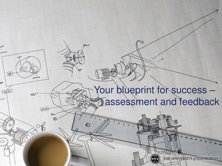 Your blueprint for success –