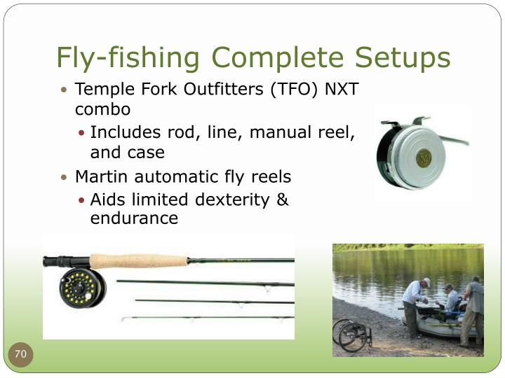 Fly-fishing Complete Setups