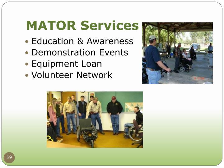 MATOR Services