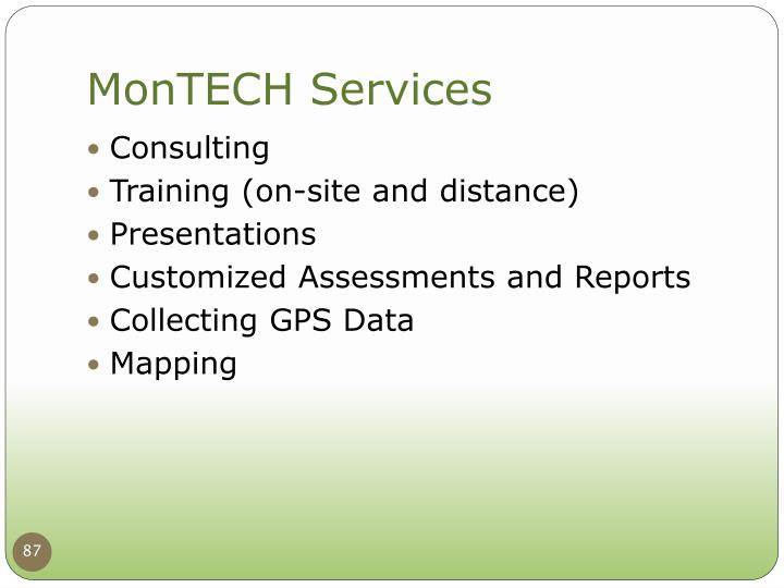 MonTECH Services