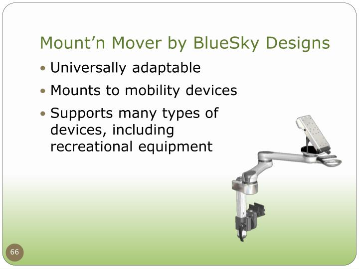 Mount'n Mover by BlueSky Designs