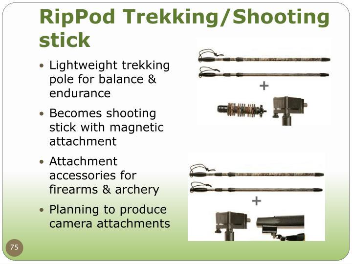 RipPod Trekking/Shooting stick