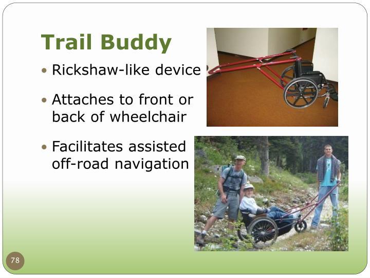 Rickshaw-like device