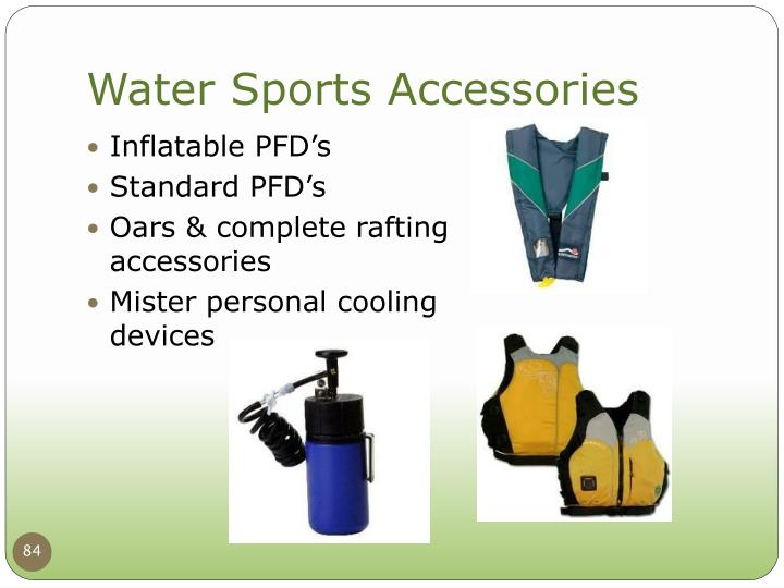 Inflatable PFD's