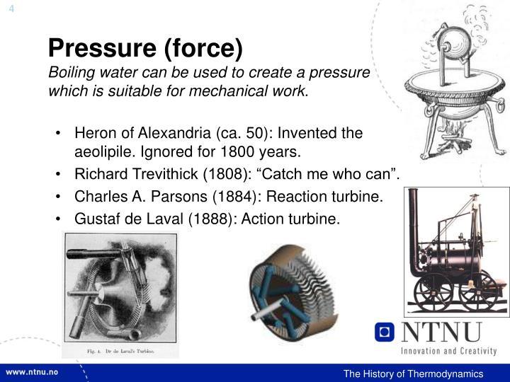 Pressure (force)