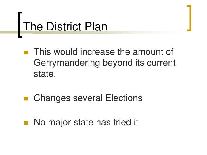 The District Plan