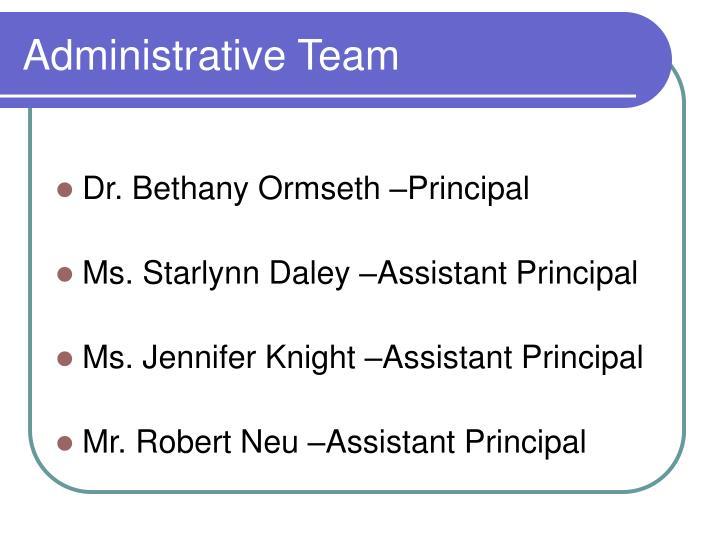 Administrative Team