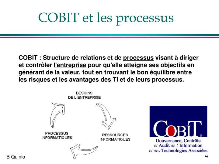 COBIT et les processus