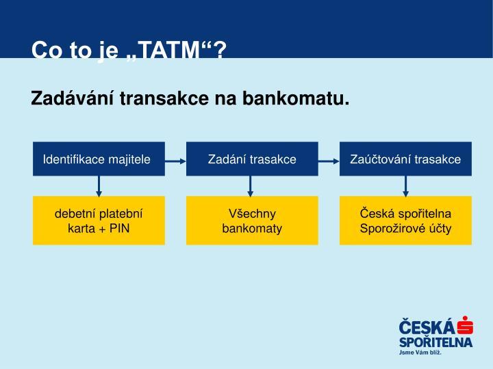 """Co to je """"TATM""""?"""