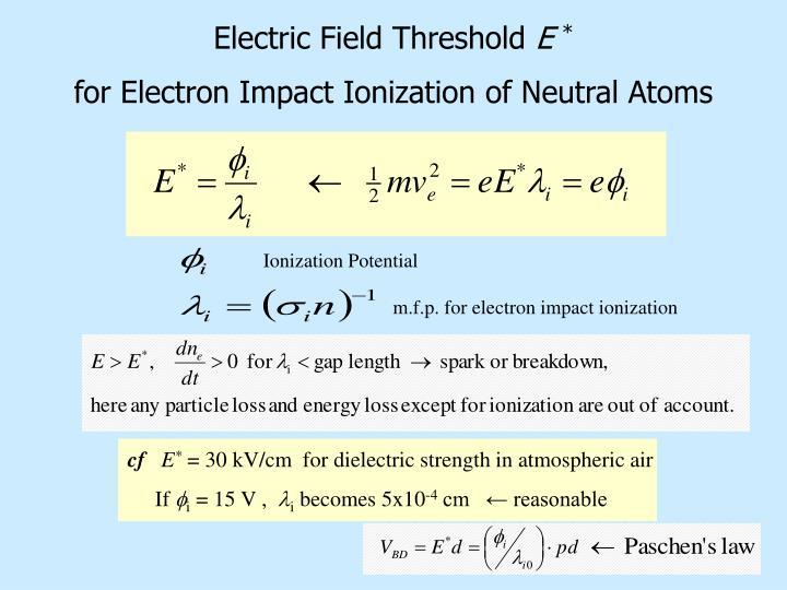 Ionization Potential