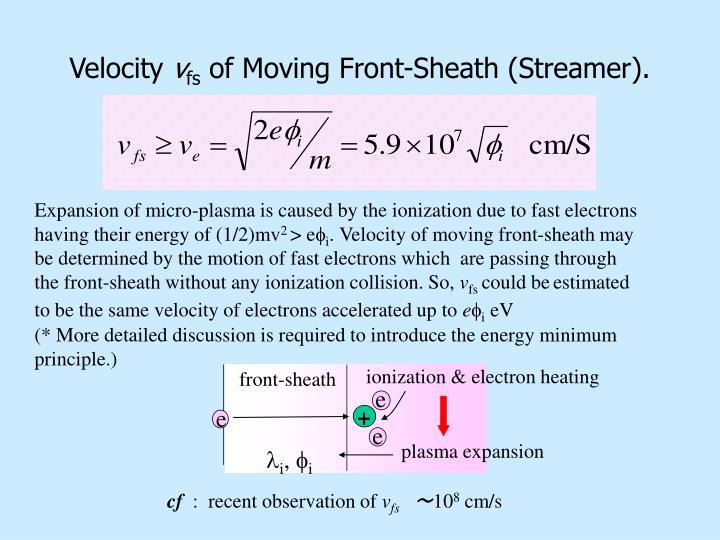 ionization & electron heating